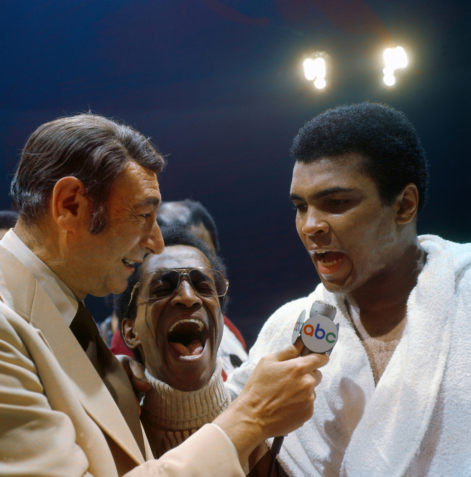 "Howard Cosell ""Down Goes Frazier"" And His Relationship With Ali"