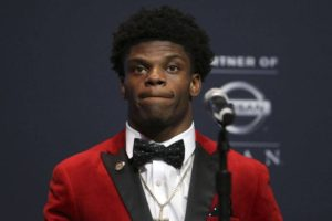 Louisville's Lamar Jackson Must Fight The Stereotype Of The Black Quarterback As He Declares For The NFL