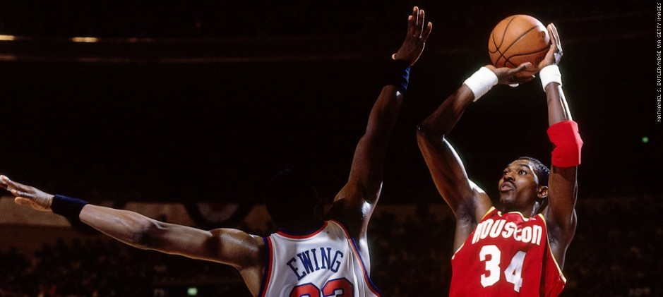 Hakeem The Dream Was A Nightmare For Opponents