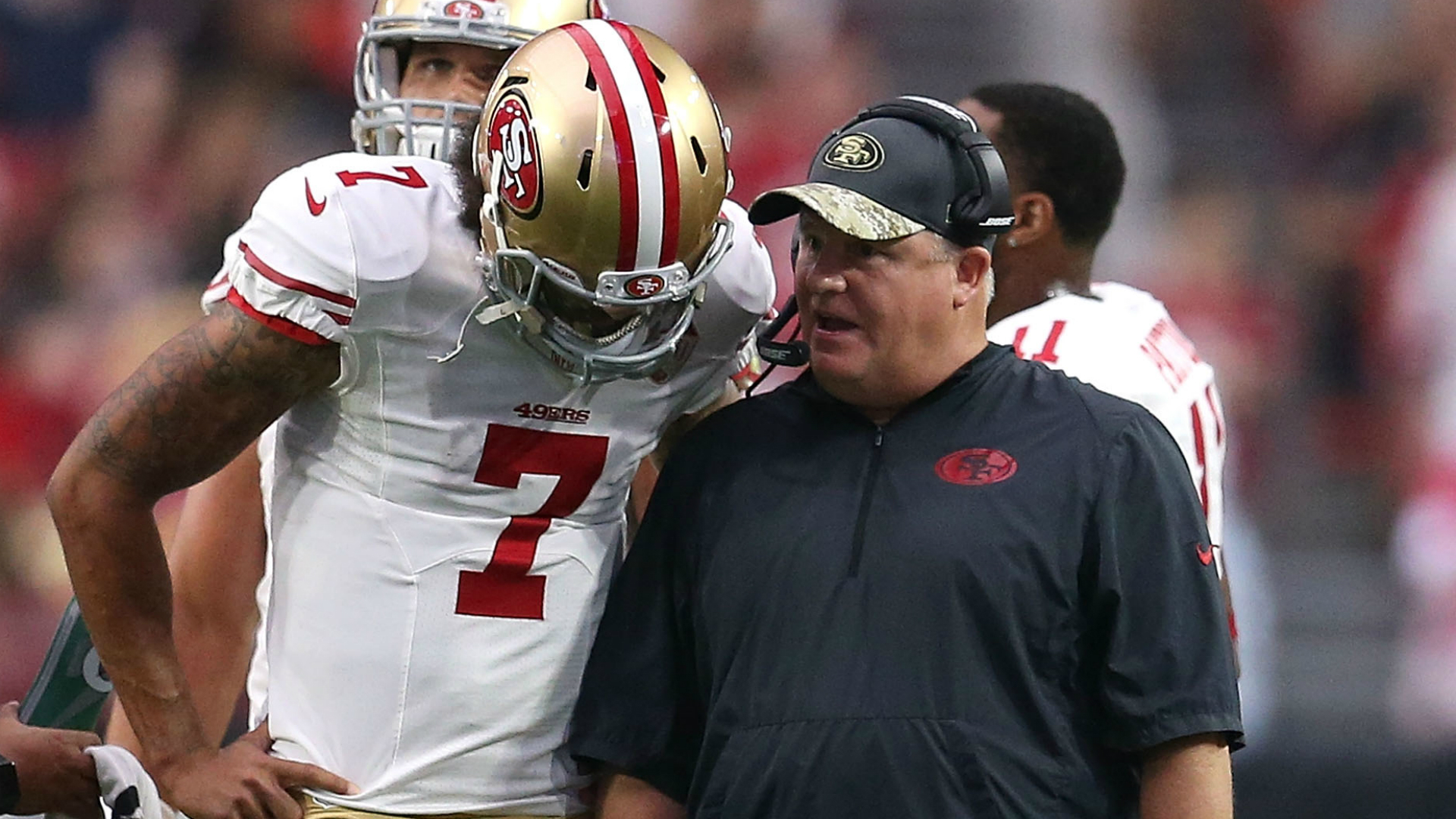 Chip Kelly s Praise Kaepernick Proves He Is Being Whiteballed