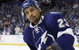 Lightning's J.T. Brown Becomes The First NHL Player To Stage Anthem Protest