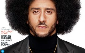 GQ Scores A Touchdown In Naming Kaepernick Citizen Of The Year