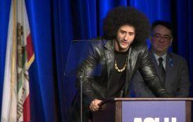 Kaepernick Speaks Out As He Receives ACLU Courage Award