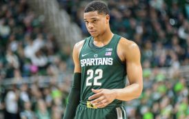 More NCAA Hypocrisy: Michigan State Star Pays Back $40, While His Coach Earns $4 Million