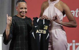 Skee-Wee!: No. 1 Pick Wilson, WNBA Prez Borders, Rep AKA At Draft