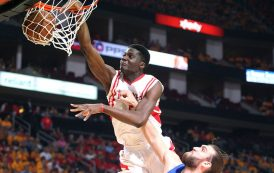 CAPELA IS KEY FOR ROCKETS IN THE 'REAL' NBA FINALS