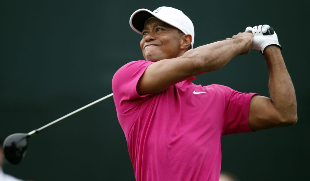 TIGER WOODS IS THE ENGINE THAT DRIVES THE GOLF WORLD