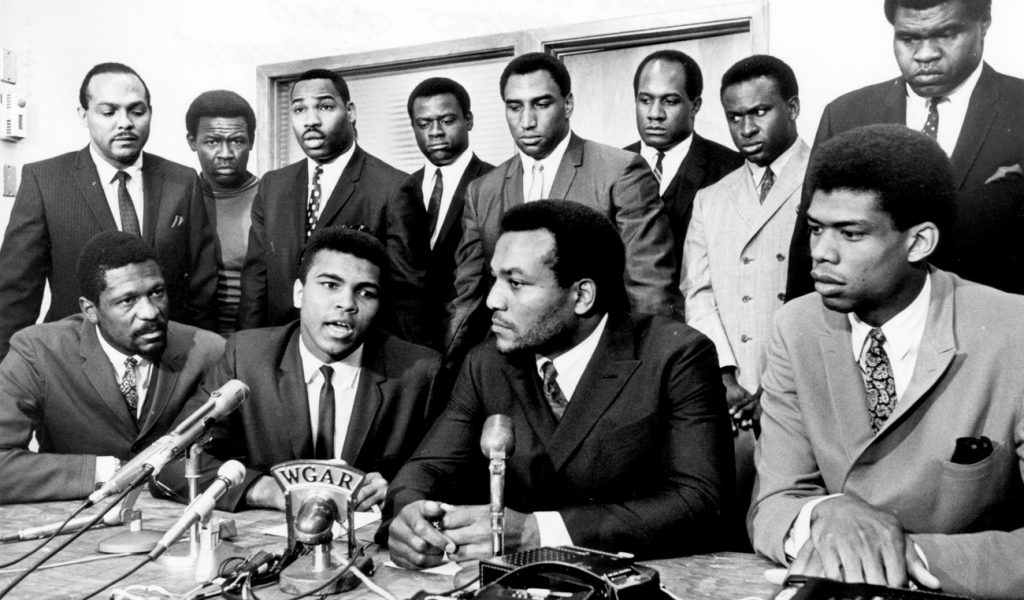 THE ROLE OF ATHLETES AND ACTIVISM HAS A STORIED HISTORY