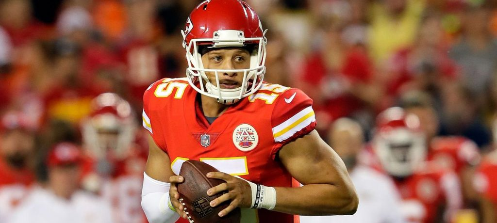 MAHOMES LEADS THE EMERGENCE OF THE BLACK QB