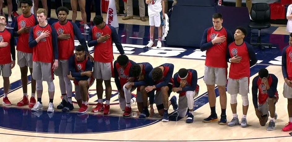COURAGE OF 'OLE MISS EIGHT' SHOULD NOT BE OVERLOOKED