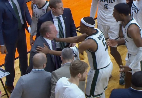 YES, COACHES CAN GO TO FAR IN ADMONISHING PLAYERS AND TOM IZZO DID JUST THAT TO AARON HENRY