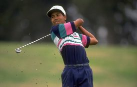 TIGER WOODS AT 14 TALKED ABOUT THE IMPORTANCE OF A BLACK MAN WINNING THE MASTERS