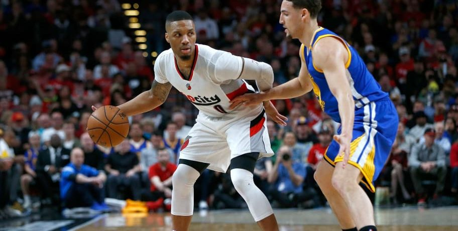 SHAQUILLE HILL PREVIEWS WHAT SHOULD BE AN INTRIGUING WARRIORS, TRAILBLAZERS WESTERN CONFERENCE FINAL
