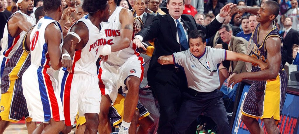 PISTONS-PACERS 2004 EASTERN FINALS WAS WHEN DEFENSE RULED