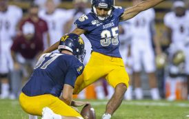 BLACK COLLEGE FOOTBALL ROUNDUP: AGGIE PRIDE STANDS TALL AS NORTH CAROLINA A&T KNOCKS OFF ELON ON LATE FIELD GOAL