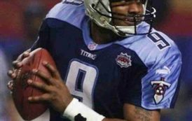TENNESSEE TITANS TO RETIRE STEVE MCNAIR'S NO. 9 JERSEY