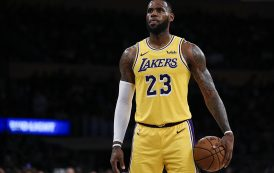 LEBRON JAMES SLIPS TO NO. 3 IN NBA PLAYER RANKINGS AS QUESTIONS LINGER ABOUT HIS GAME FOR THE FIRST TIME