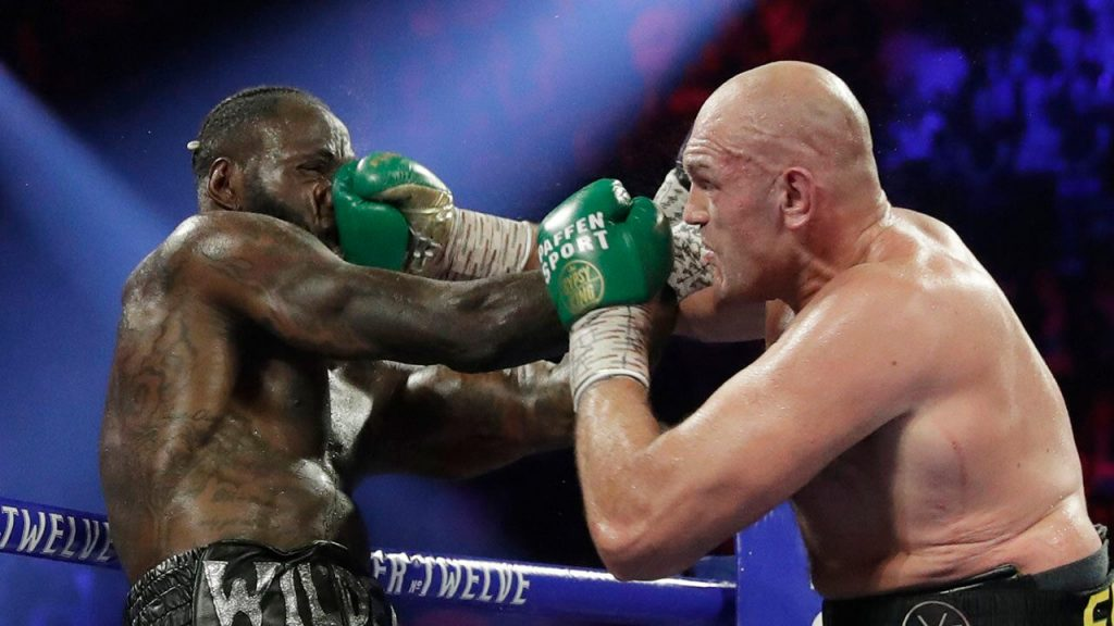 WILDER FEELS TYSON'S FURY IN STUNNING TKO LOSS